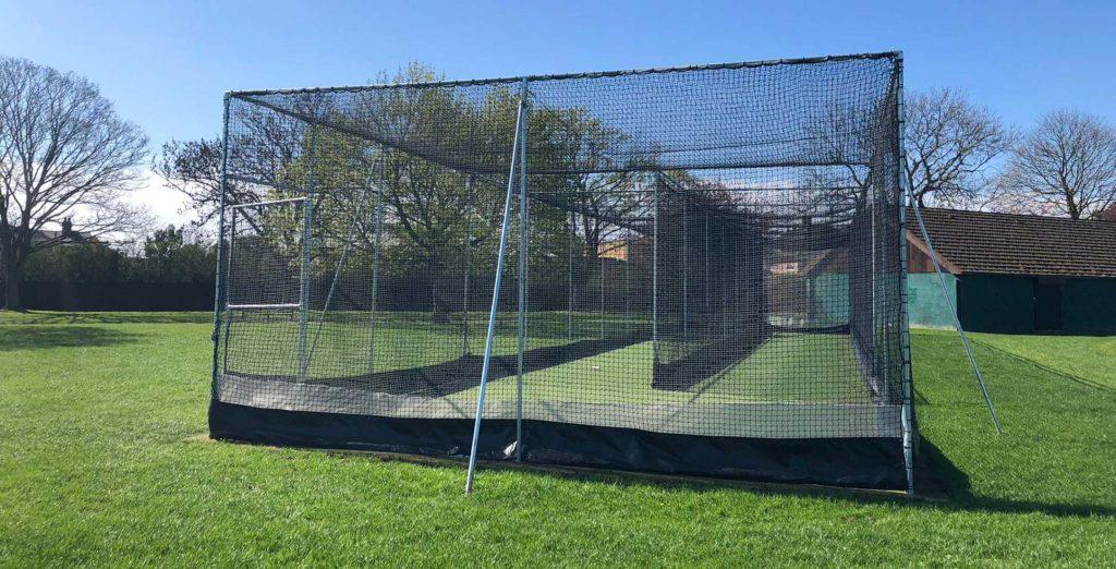 Seven Kings Park Cricket net