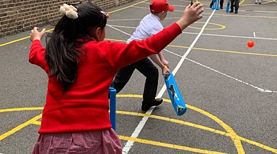 Free Cricket equipment for schools
