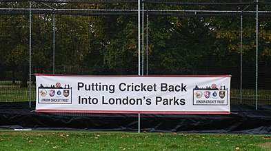 Cricket in London parks Pitches Nets